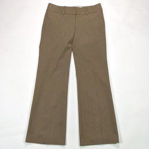 LOFT Marisa Trouser Size 0 Khaki Career Dress Pant